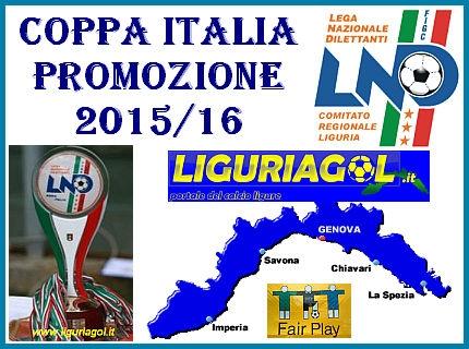 Calendario Regionale Liguria.Coppa Italia Promozione Gironi E Calendario