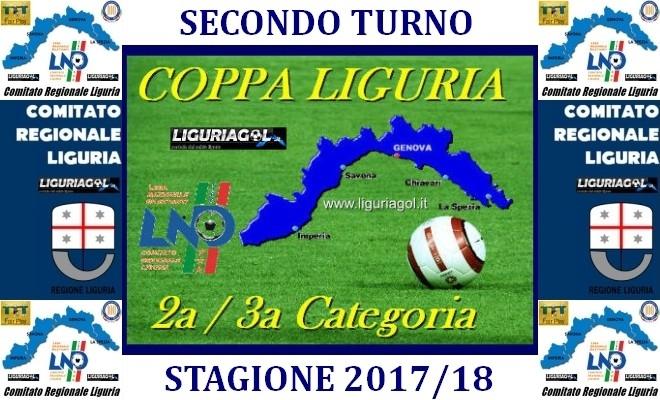 Calendario Regionale Liguria.Coppa Liguria Calendario Secondo Turno