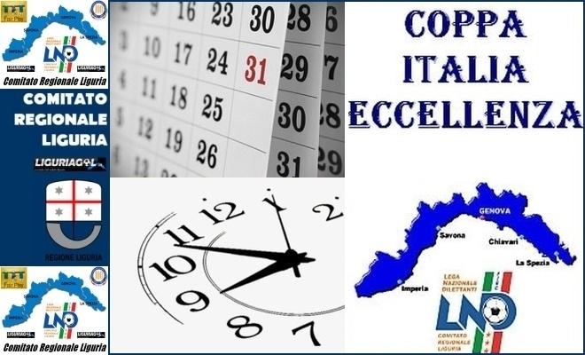 Calendario Eccellenza.Coppa Italia Eccellenza Calendario Seconda E Terza Giornata