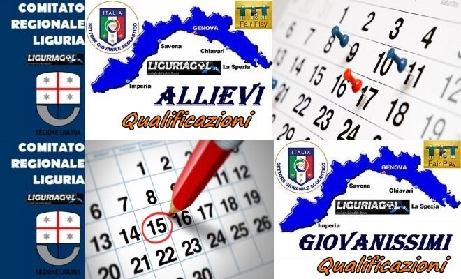 Calendario Allievi Nazionali.Tutti I Calendari Delle Qualificazioni U17 U16 U15 U14
